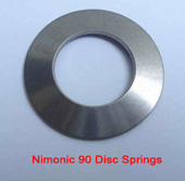 Nimonic 90 Disc Springs