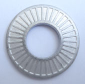 Serrated safety washer(Dacaroment finished)